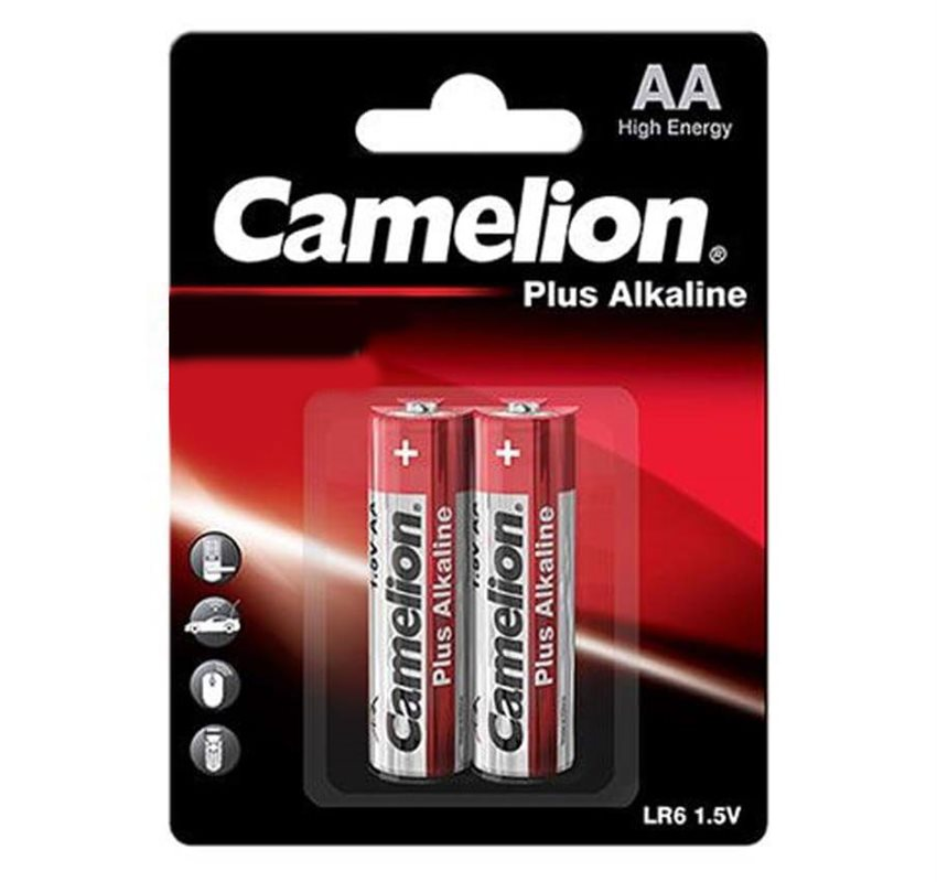 باتری قلمی Camelion مدلPlus Alkaline بسته ۲ عددی
